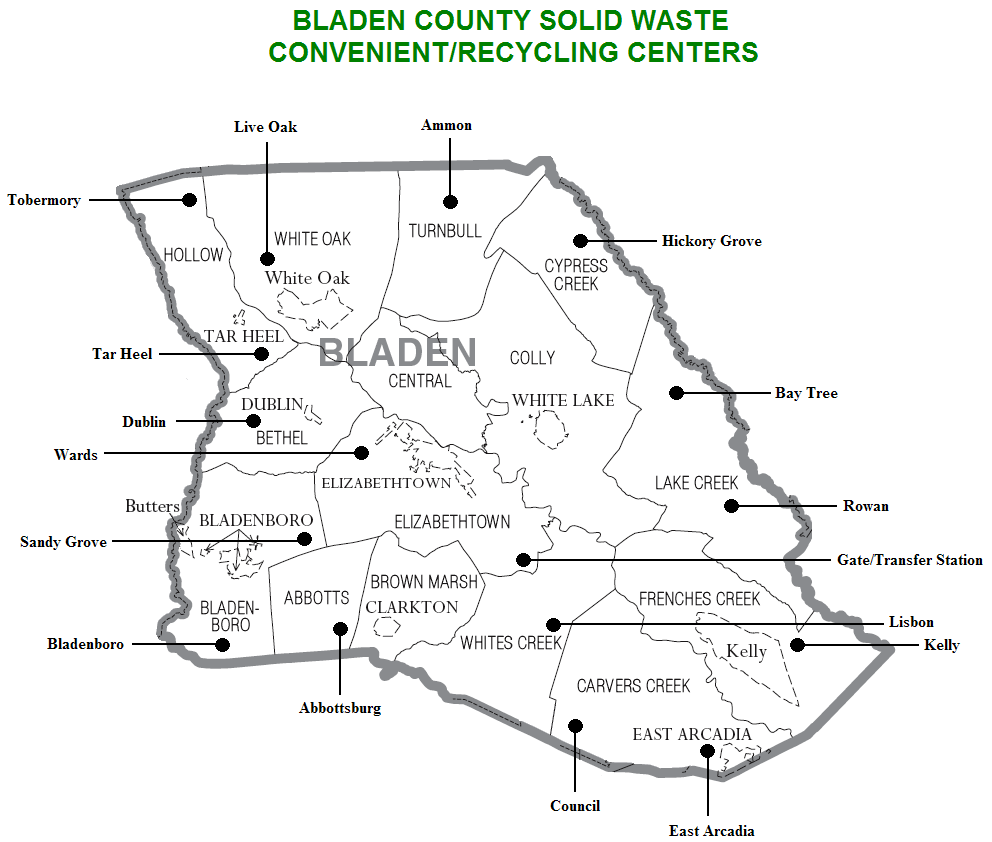Solid Waste Management - Bladen County, NC